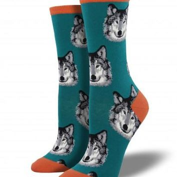 Wolf Women's Socks