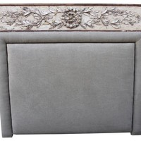 Italian Carved Belgian Headboard, King