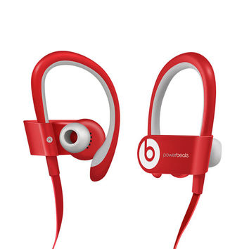 Beats By Dre Powerbeats Wireless Earbuds Red One Size For Men 25488930001