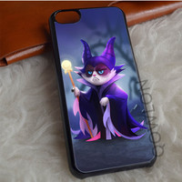 Grumpy Cat Maleficent iPhone 7 Case