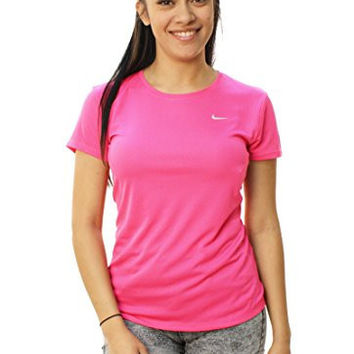 Nike Womens Challenger Short Sleeve T-shirt (SMALL)