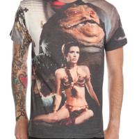 Star Wars Jabba Leia T-Shirt