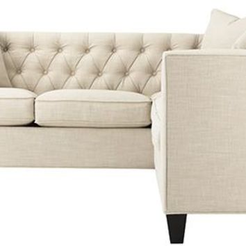 Lakewood Tufted Sectional Sofas Loveseats Living Room Furniture Homedecora