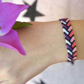 Friendship bracelet-Best friend gift-Wish bracelet-hippie bracelet-Macrame summer bracelet-teen girl bracelet teen boy bracelet