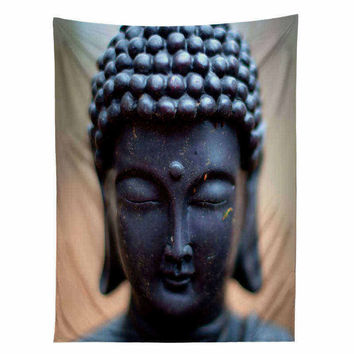 Buddha Tapestry 3D Printed Vivid Hanging Wall Tapestries 4 Sizes Indian Sheet Wall Art Carpet