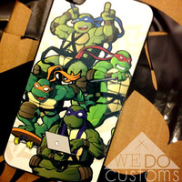 iPhone Cases -  Teenage Mutant Ninja Turtles TMNT Comic Book Retro Vintage Hard Cover Protective Case iPhone 4 5 Gifts Under 25