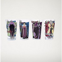 Disney Villains Pint Glass 4 Pack - 16 oz. - Spencer's