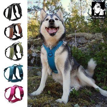 Nylon EXTRA SMALL Reflective No Pull Dog Harness Outdoor Adventure Pet Vest with Handle 5 colors in stock