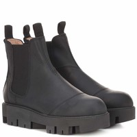 Tillay leather ankle boots