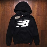 New Balance/NB Women Fashion Hooded Top Sweater Pullover Sweatshirt Hoodie