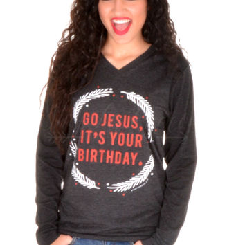Go Jesus, It's Your Birthday Tee