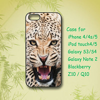 Leopard- iPhone 5 Case - iPhone 4 Case- iphone 4s case - ipod 5 case- Samsung Galaxy S4- Samsung Galaxy S3 -Samsung note 2