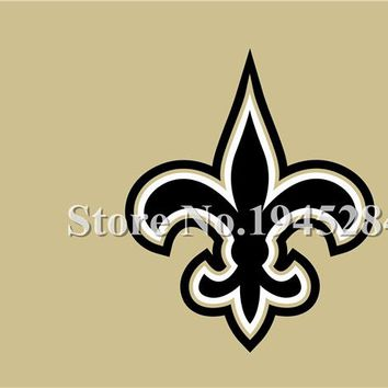 NFL New Orleans Saints Wordmark Flag New 3x5ft 90x150cm Polyester Flag Banner 3002, free shipping
