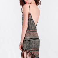 Sadira Fringe Dress By Cleobella
