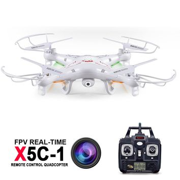 Syma X5C-1 Professional Dron RC quadcopter With Camera 2MP HD 4CH Flying Camera Drone Helicopter Remote Control Hexacopter Toys