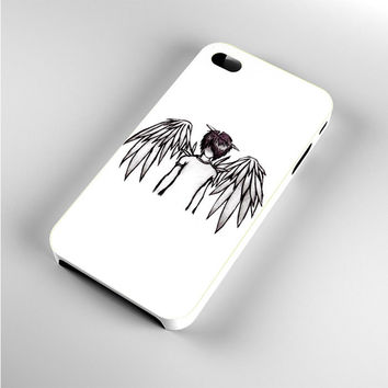 emo angel by lovehurts iPhone 4s Case