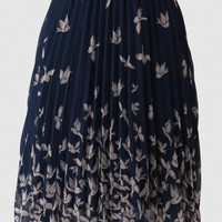 Lavagna Chiffon Skirt By Kling