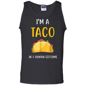 I'm a Taco in a Human Costume  Tank Top