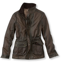 Women's Town and Field Waxed-Cotton Jacket | Free Shipping at L.L.Bean