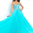 Pool Blue Blush Prom Dress 9930
