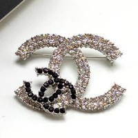 Chanel Women Rhinestone Brooch