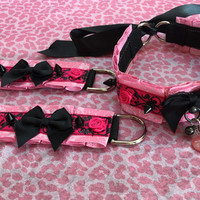 Enchanted Rose Collar and Cuff Set