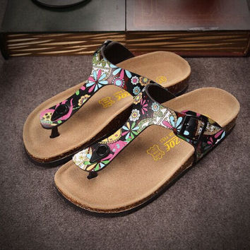 Multicolor Birkenstock like Sandals Size 35-44 for Men Women on Sale [5013030532]