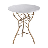 Lazy Susan Gold Thicket Table - 1481006