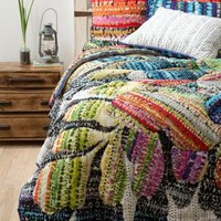Gila Quilt by Anthropologie Violet