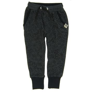 Rock Graffiti Baby Sweat Pants by: Mini Shatsu