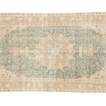 3.5x7 Distressed Oushak Rug