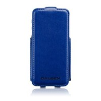 Dausen Ultimate Blue Flip Case and Stand for iPhone 5/5S-TR-RI917BL-Retail Packaging