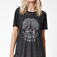 OBEY Roots Voyage Crew Neck T-Shirt at PacSun.com