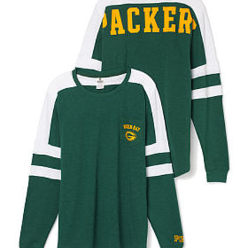 Green Bay Packers Pocket Varsity Crew - PINK - Victoria s Secret 65acaa16c