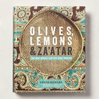 Olives, Lemon And Za'atar by Anthropologie Blue One Size Gifts
