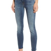 MOTHER The Looker Frayed Ankle Jeans | Nordstrom