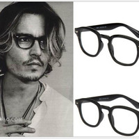 JinCool New 2016 Brand Johnny Depp Quality Glasses Men Women Vintage Optical Eyeglasses Myopic Glasses Frame Oculos de grau s465
