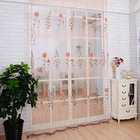 Window Curtain Sheer Panel