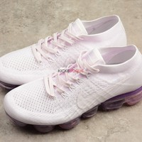 Nike Air VaporMax Flyknit Day to Night Light Violet amp White Pink 849557 501 189 Women