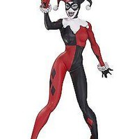 DC Collectibles: Harley Quinn Statue, Red/White/Black