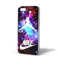 Jordan Nebula Galaxy Nike Ball for Iphone Case (iPhone 5c white)