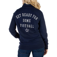 Dallas Cowboys PINK Half Zip Top | PINK | Womens | Cowboys Catalog | Dallas Cowboys Pro Shop