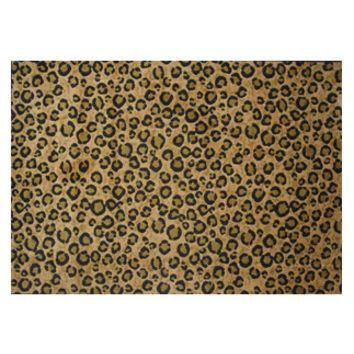"Supreme Leopard Skin 39""x58"" Area Rug New"