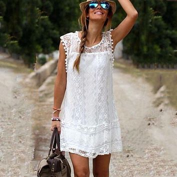 Vestidos Casual Short Dress