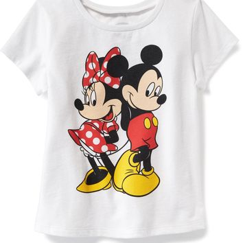Disney© Mickey and Minnie Tee for Toddler | Old Navy