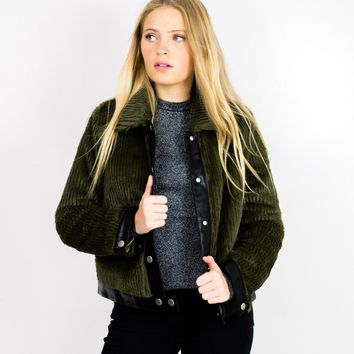 Fletcher Cropped Jacket