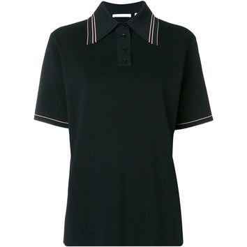 Minimal Black Polo by Helmut Lang