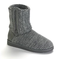SO® Foldover Sweater Boots - Women
