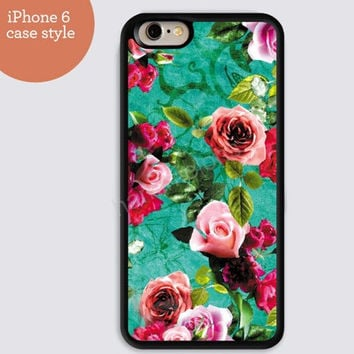 iphone 6 cover,art iphone 6 plus,mandala rose IPhone 4,4s case,color IPhone 5s,vivid IPhone 5c,IPhone 5 case