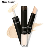 Full Cover 24H Lasting Waterproof Exquiste Fashion Concealer Stick Concealer Ball Bearing Face Cream Sticker by Music Flower